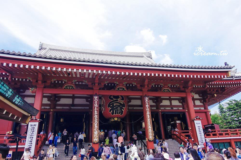 【日本東京】淺草寺、雷門通、仲見世街 必去拍照景點(內附參拜方式)