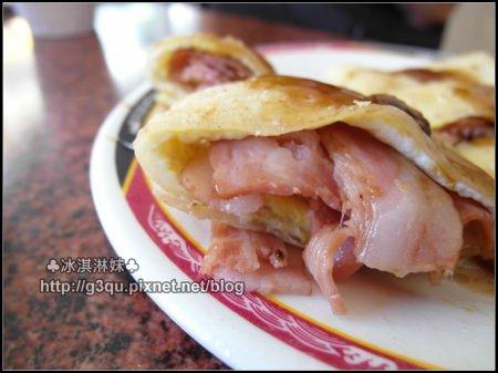 【台中北區】台中二中文化早餐 – 必吃傳統厚皮蛋餅 激推漢堡、肉蛋吐司